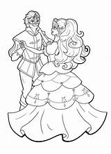 Ballroom Coloring Pages Dancing Dance Getcolorings Getdrawings Colouring Barbie Sheets Bulkcolor sketch template