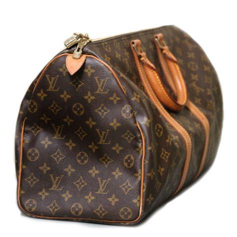 authentic vintage louis vuitton carryall keepall  handbagduffel bag