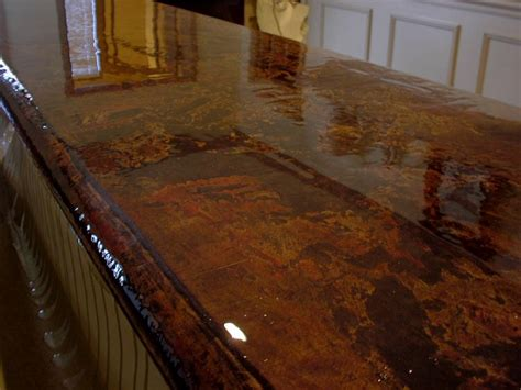 How To Acid Stain Concrete Countertops - best 25 stained concrete countertops ideas on