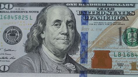 1 Dollar, 2 Dollars, 5 Dollars, 10 Dollars, 20 Dollars, 50