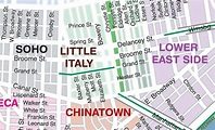 Little Italy, Lower East Side, China Town NYC 4/11/13 ...