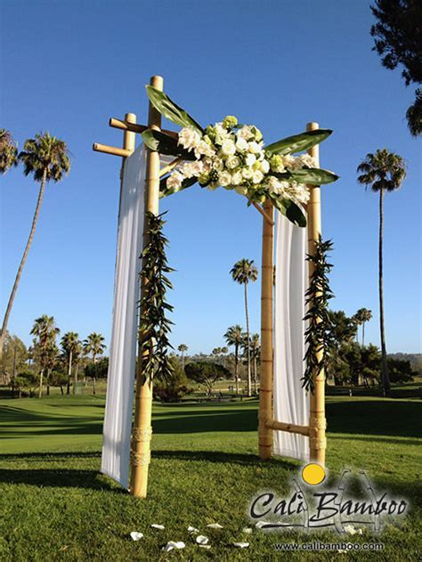 Bamboo Wedding Arches to Match Your Style