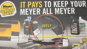 Genuine Meyer 12 Pin To 6 Pin Adapter 22717 For 22690