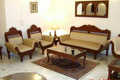 seater carved wooden furniture rs  set heritage