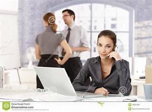 Young People Working In Office Royalty Free Stock Image ...