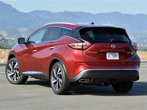 nissan murano 2017 red ratings and review 2016 nissan murano platinum ny daily
