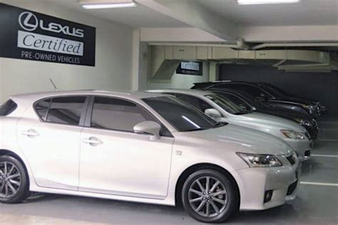 lexus manila launches certified pre owned vehicles program