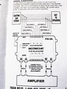 Ford Factory Amplifier Wiring Diagram