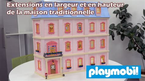 extensions de la maison traditionnelle de playmobil