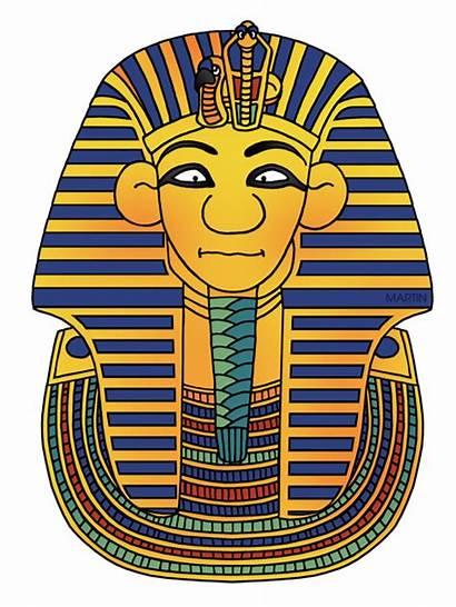 Clipart Egypt King Tut Mask Ancient Egyptians