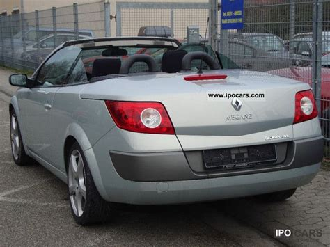 2003 renault 2 0coupe megane cabriolet panoramic luxe