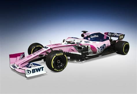 racing point unveils livery sponsor toronto