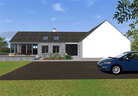 open plan bungalow