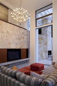 Stone, Texture, Walls, For, Living, Room, -, 43, Examples, Of, How, Stones, Work, On, The, Ambience