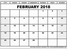 February 2018 Calendar With Holidays UK calendar for 2019