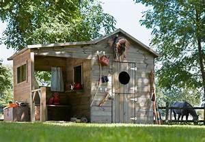 Grande Cabane Enfant : cabanes de jardin ~ Melissatoandfro.com Idées de Décoration