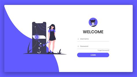 responsive animated login form  html css javascript