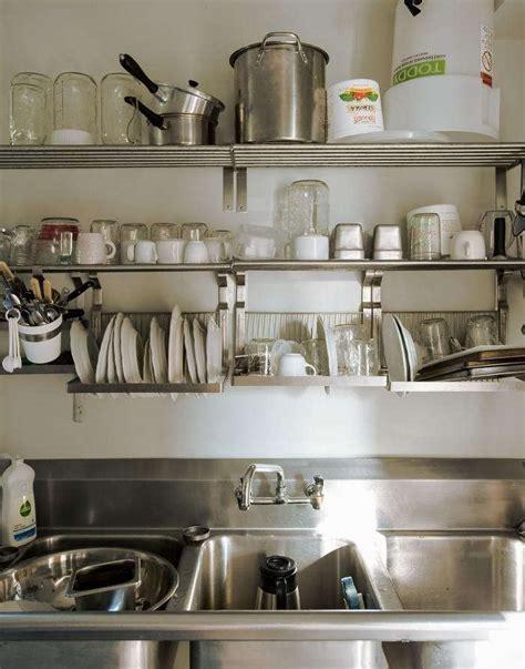 ultimate budget storage  kitchens  ikeas grundtal rail system remodelista