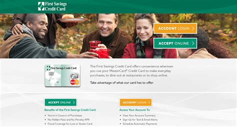 There are currently eight offers on the page. First Savings Credit Card Login - CreditCardMenu.com