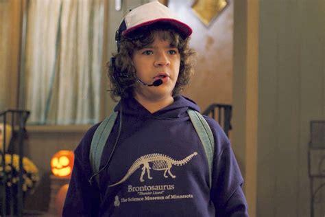 dustins brontosaurus sweatshirt  stranger