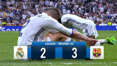 real madrid   barcelona hd  full match highlights