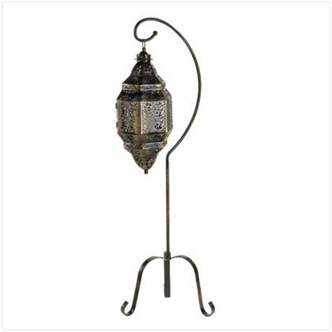 moroccan candle lantern stand patio garden yard lights