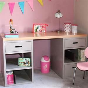 Bureau D Angle Enfant : bureau fille champagneconlinoise ~ Teatrodelosmanantiales.com Idées de Décoration