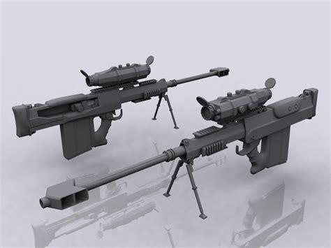 Nac Heavy Sniper Rifle (zeller Replace)