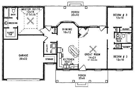3 Beds 2.00 Baths 1298 Sq/ft