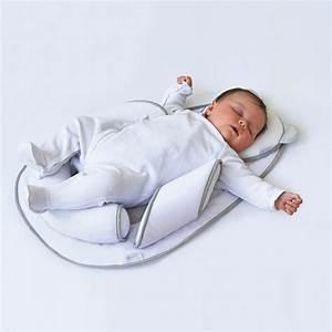 Cale Bebe Lit : cale b b panda pad air blanc gris de candide sur allob b ~ Premium-room.com Idées de Décoration