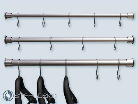 kleiderstangen für die wand garderobenstangen classicus edelstahl v2a verschiedene