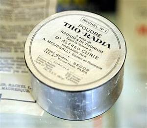 Radioactive products from the past that people actually ...