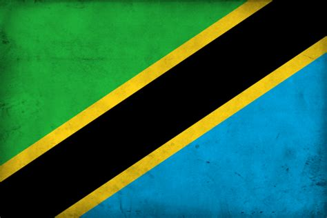 Grunge Flag Of Tanzania By Pnkrckr On Deviantart