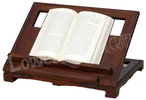 wooden cutting brass inlay rehal holy book reading stand