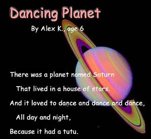 Poem About Planets (page 2) - Pics about space
