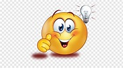 Smiley Emoticon Emoji Sticker Thumb signal, smiley PNG | PNGWave