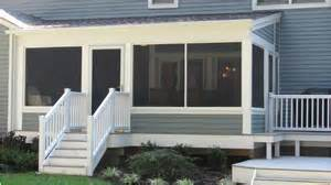 Deck with Screened Porch Designs