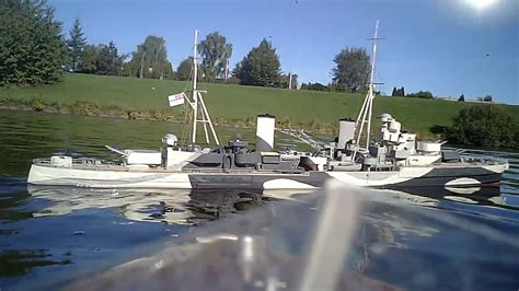 hms penelope scratch built scale model rc warship youtube