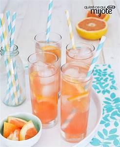 Boisson Rafraichissante : boisson rafra chissante au pamplemousse recette ~ Nature-et-papiers.com Idées de Décoration