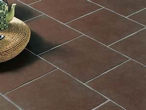 Carrelage Au Sol : carrelage chocolat salon ~ Nature-et-papiers.com Idées de Décoration