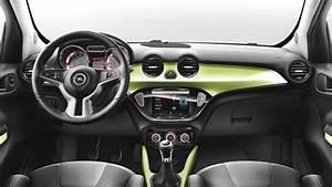 Opel ADAM 2013 Abmessungen, Kofferraum und Innenraum