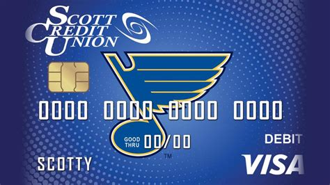 You're able to choose a card design of your favorite nhl card and it comes with the. Scott Credit Union to launch Blues Checking and debit card   NHL.com