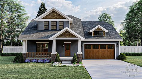 story bungalow house plan newport