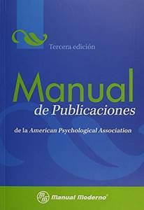 9786074480528  Manual De Publicaciones De La American