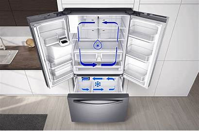 Cooling Twin Plus French Door Samsung Refrigerator