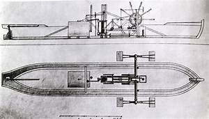 steamboat images | ... plan for Robert Fulton's first ...