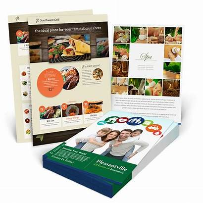 Flyer Flyers Printing Sell Sheets Business Custom