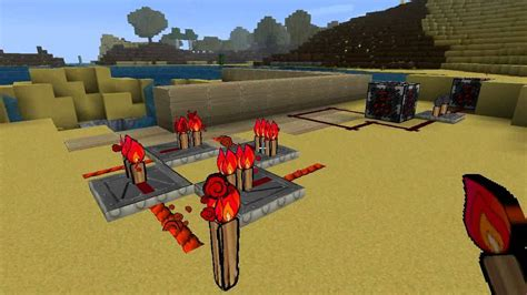 Redstone Circuits Och Repeater Forklaring Tutorial
