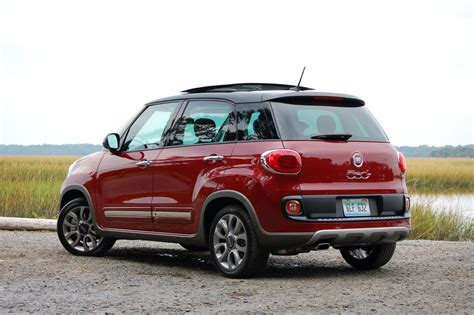 Review Of Fiat 500l by 2015 Fiat 500l Trekking Review Test Drive
