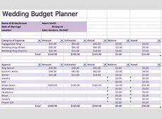 Budget Planner Spreadsheet Excel 15 useful wedding